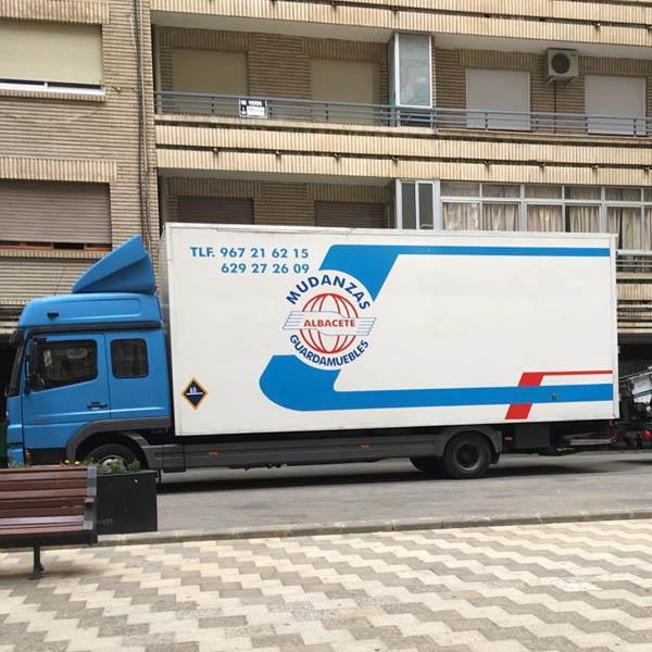 mudanza camion albacete